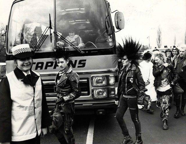 As caras do punk durante os anos 70 e 80