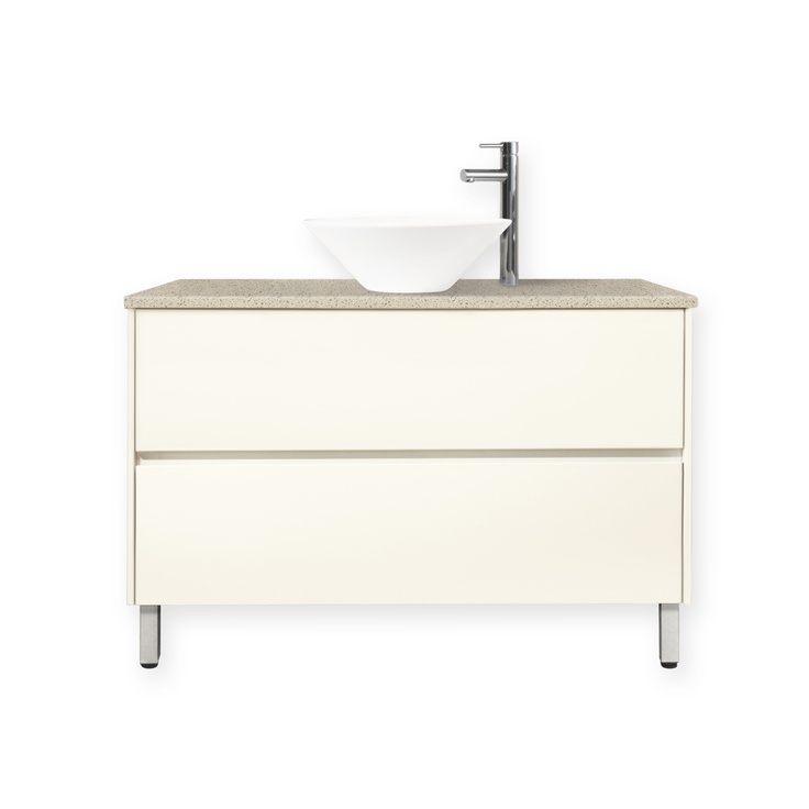Innovative  Imola Wall Hung Vanity 460mm High Gloss White  Bunnings Warehouse