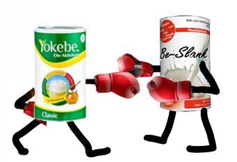 shake Be-slank versus yokebe