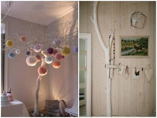 Ideas para decorar con ramas secas home some wishes for Ideas decorativas home