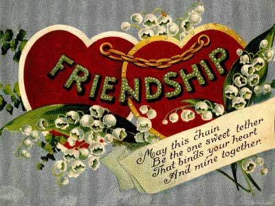 17 Best images about vintage valentines – Valentine Card Friendship Quotes