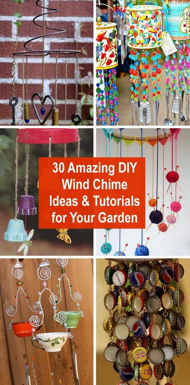 Amazing Diy Wind Chime Ideas Tutorials For Your Garden Diy