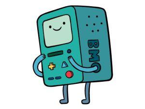 Bimo è un amico pieno di risorse per Finn e Jake: sveglia, fotocamera e videogiochi incorporati in un'unica persona. Boing Tv