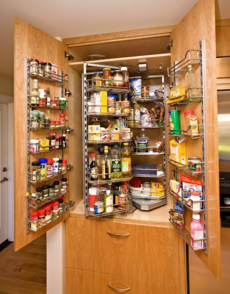 Contemporary Kitchen Storage Systems