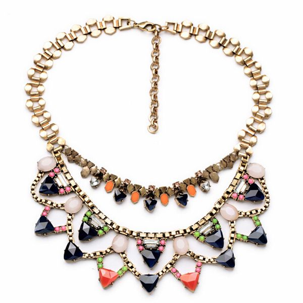 Color Drops Necklace
