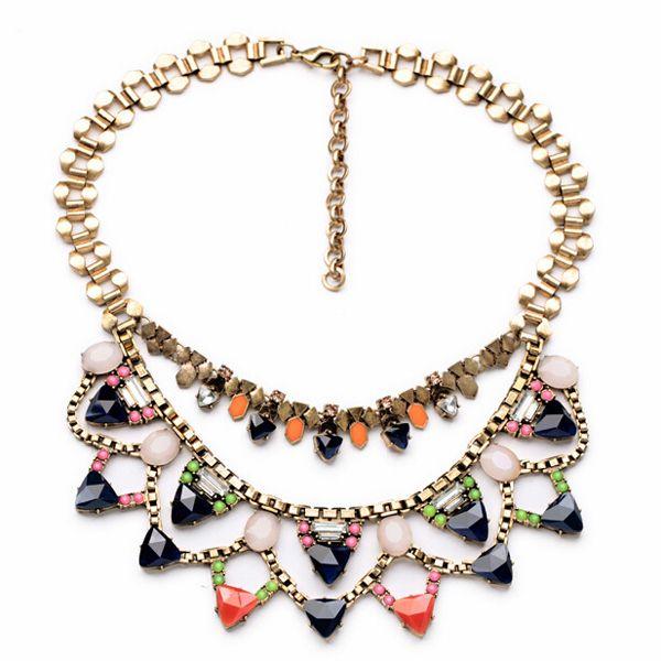 Color Drops Necklace