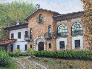 Casa Molinari, olio e terra su tela, 35×50, 2011
