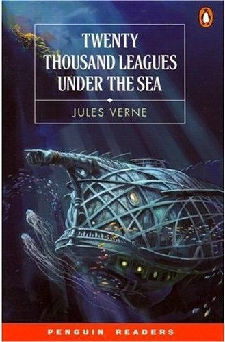 20,000 Leagues Under the Sea by Jules Verne (1870). I've always been a fan of Jules Verne books... but this is my favorite out of all his works. Despite his works being in the 1800's, Jules Verne shows how to be futuristic, creative, and imaginative.