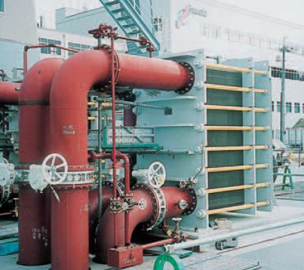 Hisaka Plate Heat Exchanger for Cooling of Turbine Bearing Water Cooling System. Hisaka Plate Heat Exchanger Gaskets Venezuela