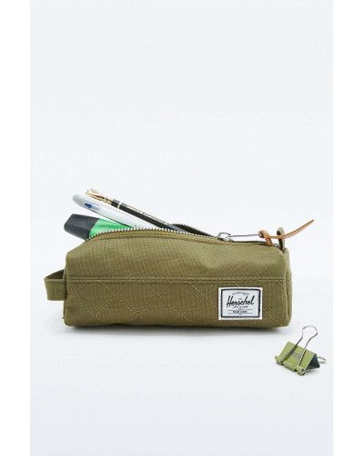 Herschel Supply Co. | Green Settlement Army Quilted Pencil Case for Men | Lyst