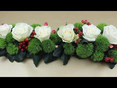Tischdeko Blumengesteck Fur Die Hochzeit Selber Machen Deko Ideen Mit Flora Shop Youtube Blumen Gestecke Blumengestecke Blumengestecke Selber Machen