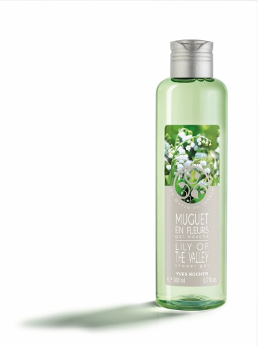 All the springtime freshness of Lily of the Valley in bloom in this Shower Gel with its fine, light lather leaves the skin delicately scented. Enriched with Organic Aloe Vera gel, its creamy formula is gentle on your skin. #yvesrocherusa #fragrance #lilyofthevalley