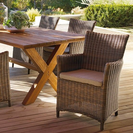 Rectangle Fire Pit Table Canadian Tire Canvas Lakeside Collection Teak Table  Is Perfect For Eating In Part 35