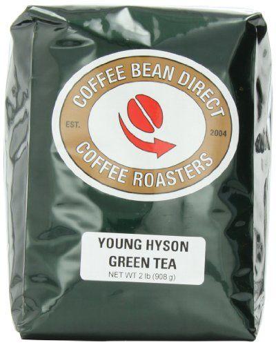 Coffee Bean Direct Young Hyson Green Loose Leaf Tea, 2 Pound Bag - http://teacoffeestore.com/coffee-bean-direct-young-hyson-green-loose-leaf-tea-2-pound-bag-2/