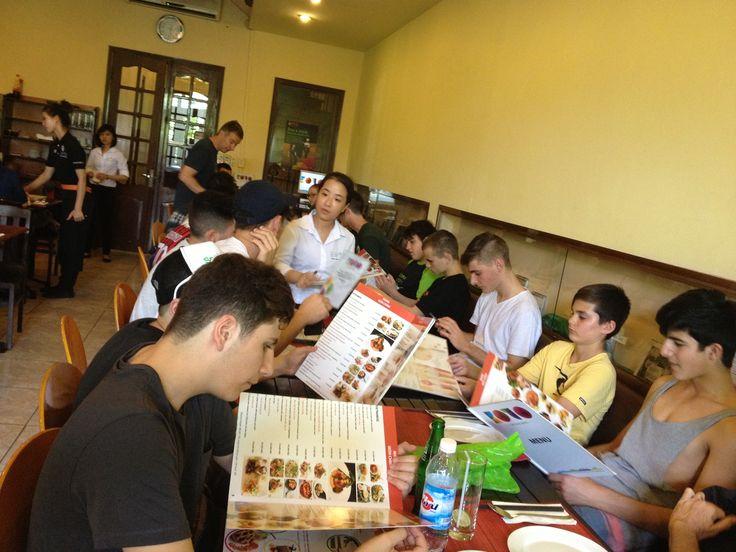 Time to eat. #VietnamSchoolTours
