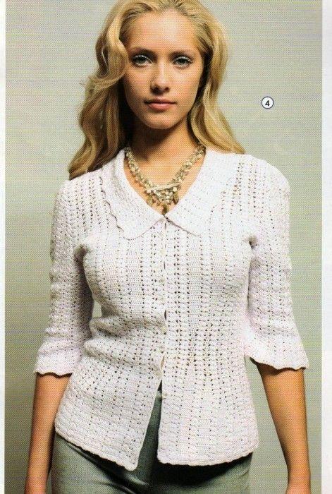 17 Best images about Crochet short jacket on Pinterest | Ravelry ...