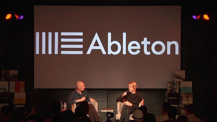 ABLETON LOUNGE @ EM15: LIVE TALKS WITH RICHIE HAWTIN on Vimeo