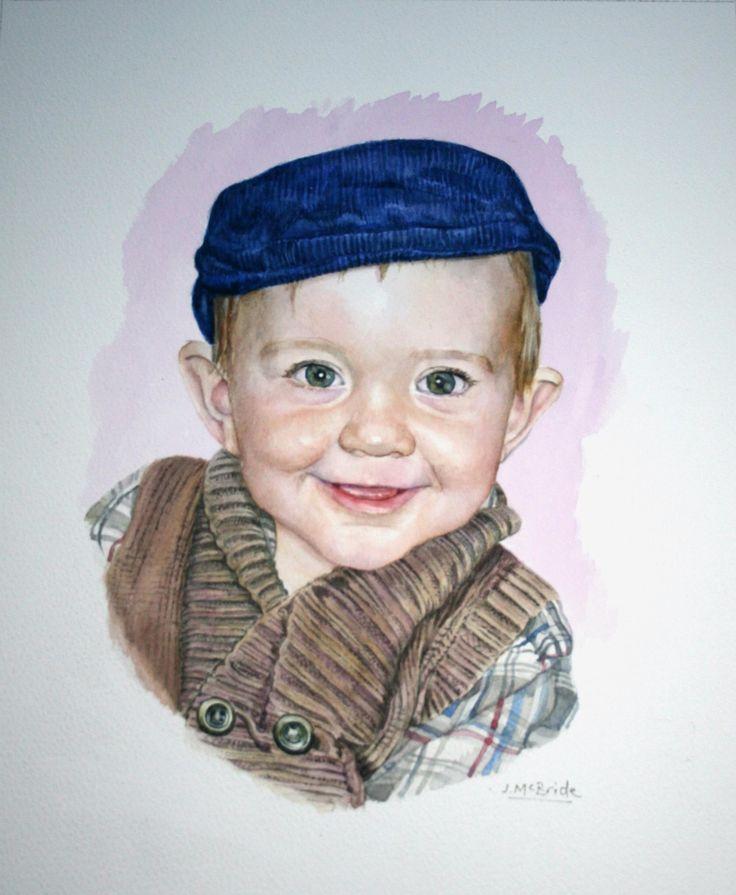 'Jacob' - watercolour