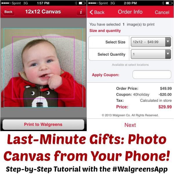 Learn how to make a photo canvas in one hour from @Happy Hour Projects with the #WalgreensApp http://cbi.as/tbu6f #shop