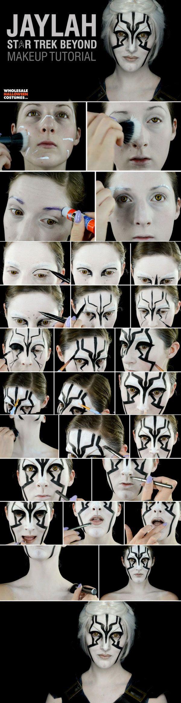 Find out how to get Jaylah's out of this world look from Star Trek Beyond with this makeup tutorial!
