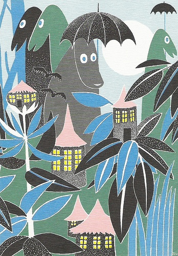 Moomin illustrations
