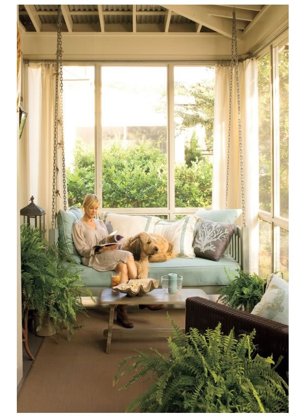 17 best images about perfect porches patios on pinterest for Love making swing