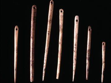 Simple needles made out of animal bone first appeared about 30,000 years ago. #FashionFact #Trivia #wowfacts