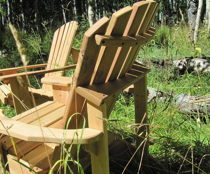 Adirondack Chair Kits Unfinished 2 от gardenfurnituremill