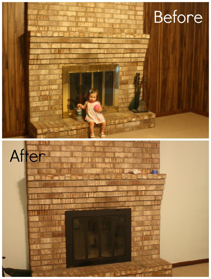 1000 images about before and after on pinterest Ways to update wood paneling