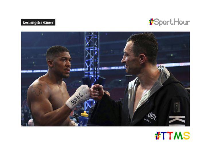 ttms.blog/kOzcre  #JoshuavsKlitschko rematch could be in #vegas now 11  #ttms #sporthour #boxing #joshua #Klitschko #aj #heavyweight