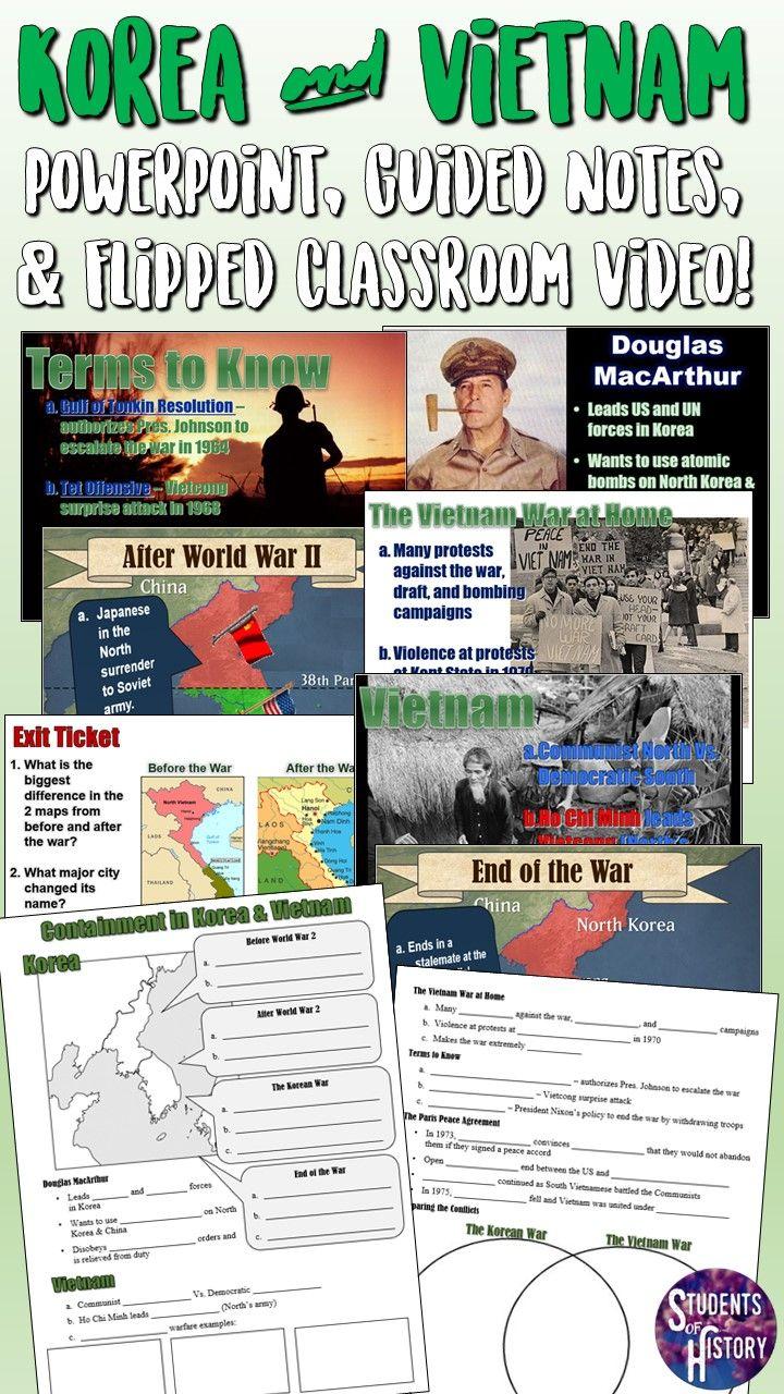 Containment The Korean Vietnam Wars Powerpoint Lesson