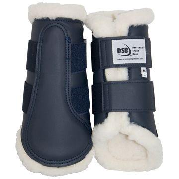 DSB Dressage Sport Boots - Matte - Navy/White