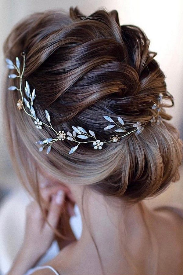 60+ Wedding hairstyle ideas for the bride 2019-2020 ...