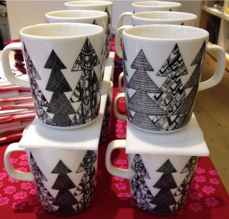 Marimekko mugs... festive $20