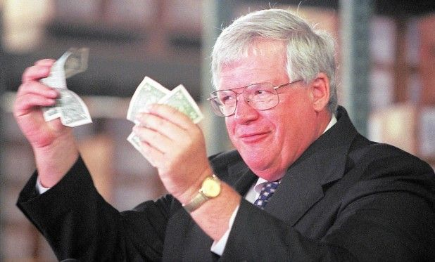 Dennis Hastert pedophile raped child hush money