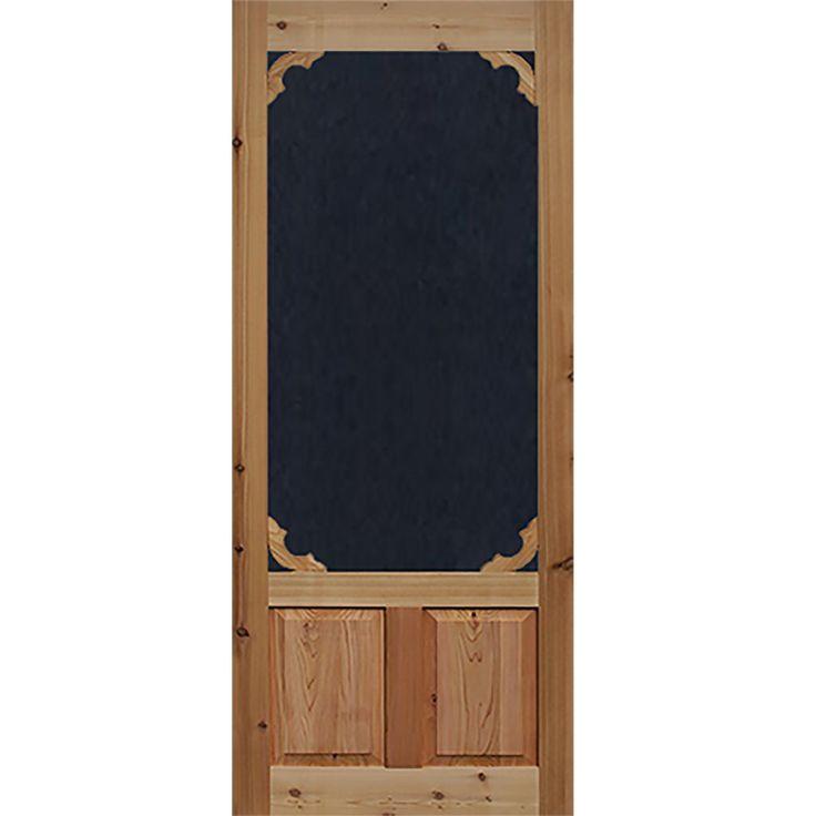 Screen Door Cedar Woodland 1 3/8 In. Thick