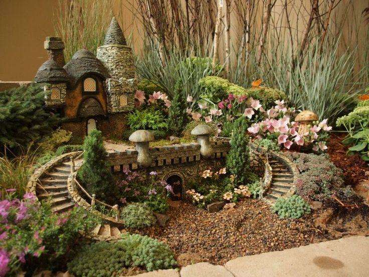 Las 25 mejores ideas sobre jardines en miniatura en - Jardines zen miniatura ...