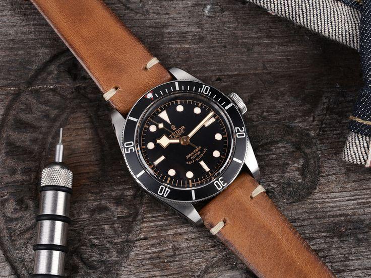 Tudor Heritage Black Bay Black 7922ON - Bulang & Sons