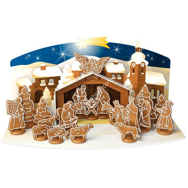 Szopka Bożonarodzeniowa z piernika zestaw foremek do wykrawania | TESCOMA DELICIA