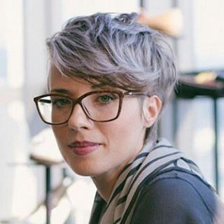 Prime 1000 Ideas About Short Grey Haircuts On Pinterest Short Gray Hairstyle Inspiration Daily Dogsangcom