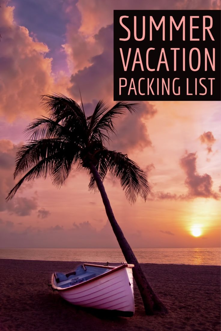 Ultimate Summer Packing List! - #travel #trip #vacation #packinglist #traveltips