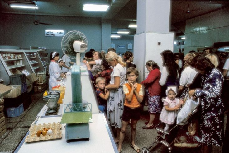 Stan wojenny, wrocławski sklep, 1982