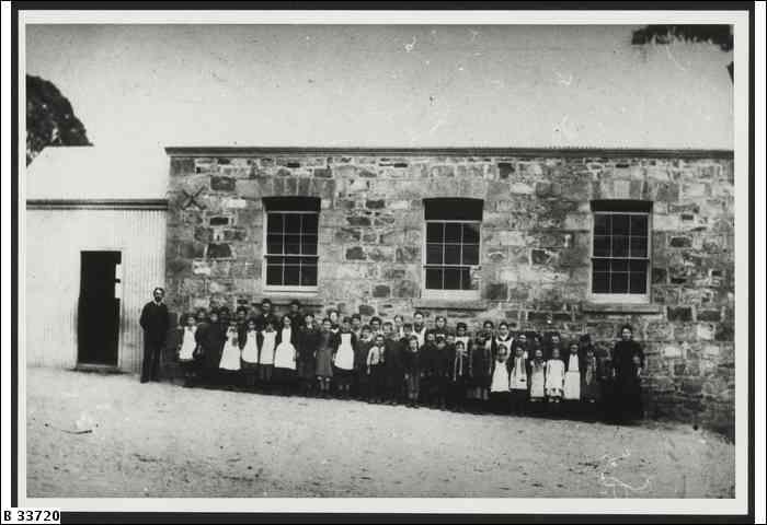 Tea Tree Gully school ca 1910 trove.nla.gov.au