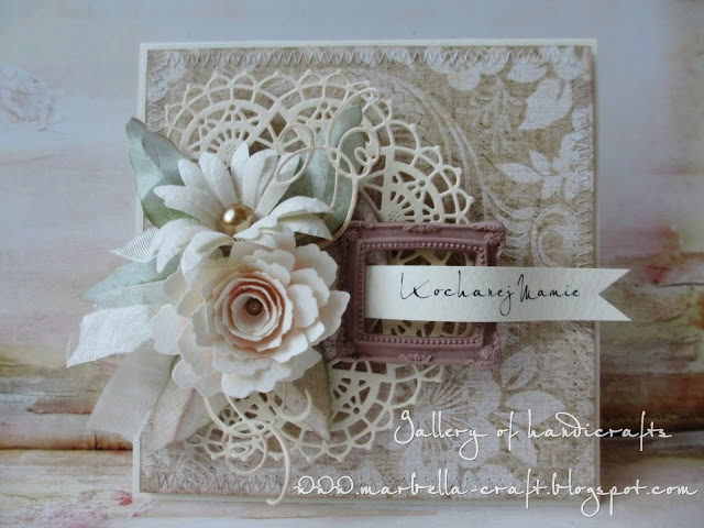 Gallery of handicrafts & 242 best Cards - Doilies images on Pinterest | Shabby chic cards ...