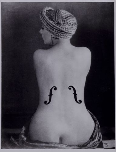 Man Ray - Violon d'Ingres...one of my favorite photos of all time