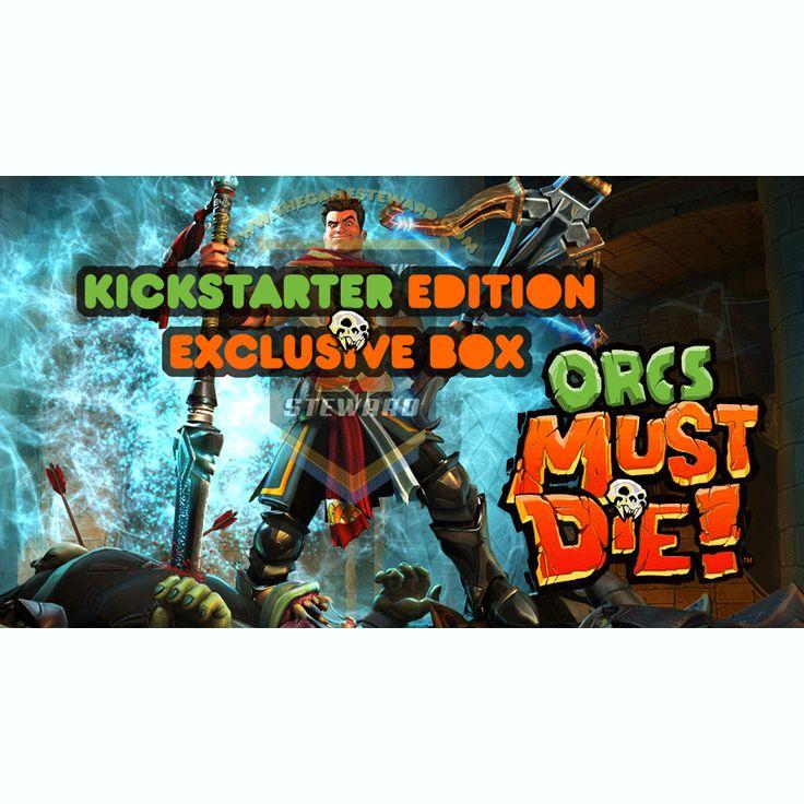 Orcs Must Die! Exclusive Box (Kickstarter Special)