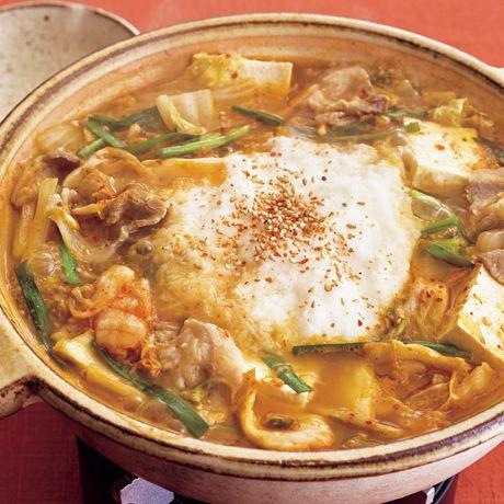 とろろのマイルドキムチ鍋 | 市瀬悦子さんの鍋ものの料理レシピ | プロの簡単料理レシピはレタスクラブニュース