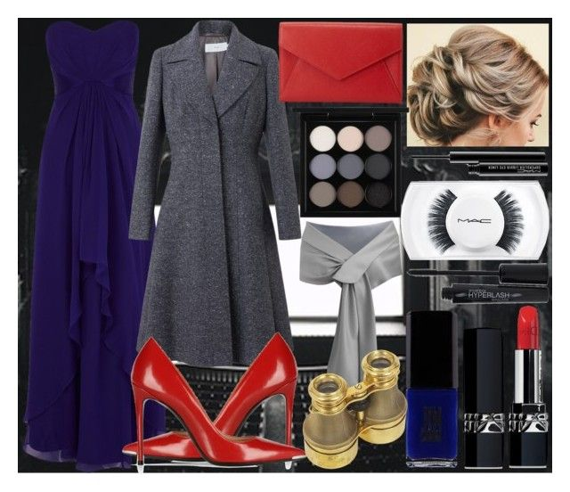 National Theatre by slytheriner on Polyvore featuring Coast, John Lewis, Barbara Bui, Neiman Marcus, MAC Cosmetics, Christian Dior, Smashbox and JINsoon