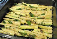 Zucchine croccanti al forno - Così cucino io