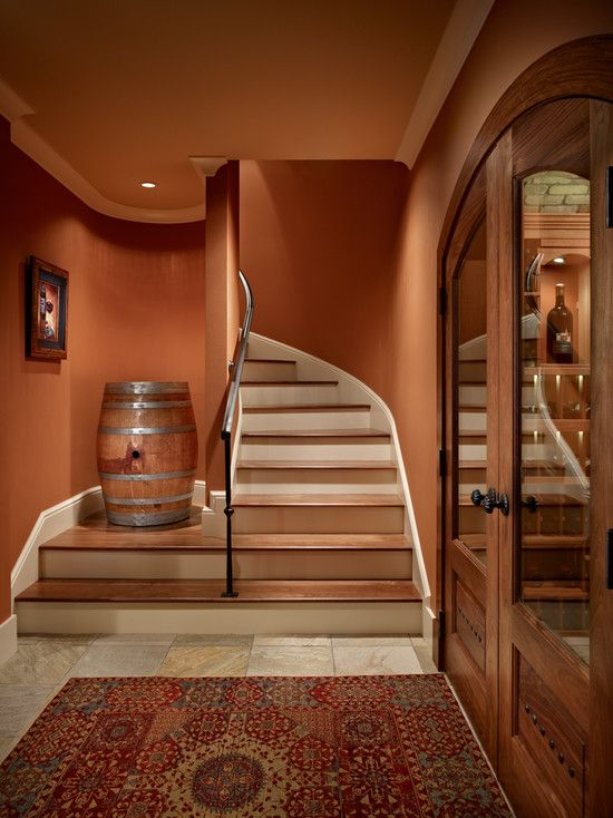 The wine room color interiores pinterest color for Wine cellar paint colors